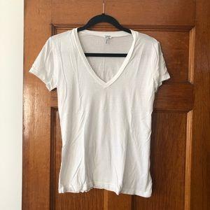 Splendid White V-Neck T-Shirt